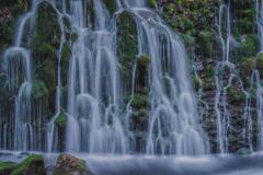 冬の元滝伏流水 ⑤