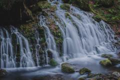 冬の元滝伏流水 ④