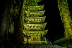 東北最古の塔