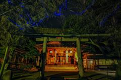 荘内神社の七夕