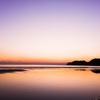 由比ヶ浜の夕焼け