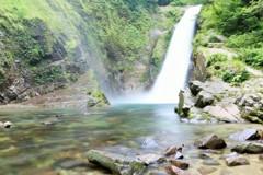 今日の秋保大滝