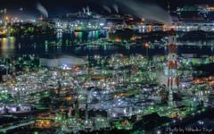 煌秋 水島の夜