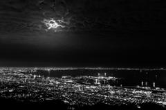 神戸の月夜