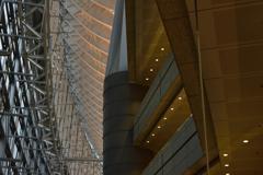 東京国際フォーラム スロープから