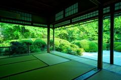 緑輝く詩仙堂