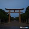 神宮への道