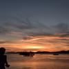 宍道湖と少女