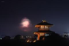 夜霧の花火(2)