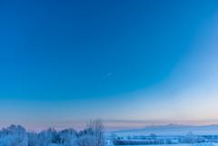 絵画のような極寒の朝