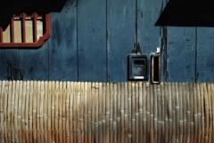 京町屋の壁