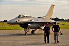 PACAF F-16 Demo Team
