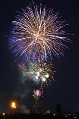 おん祭MINOKAMO2018 夏の陣 花火