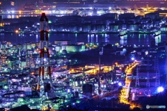 工場夜景④