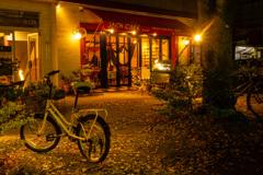 Fallen leaves cafe