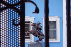 旧山手居留地散歩 #1 ナポレオン騎馬像