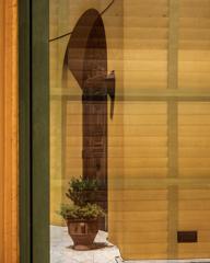 Reflection ガラリ戸と扉