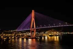 釜山大橋 #1 ライトアップ