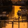 運河、夕映え #2