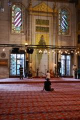Sultan ahmet Camii #6 ミフラーベ メッカへ