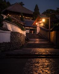 東大寺二月堂 裏参道石畳
