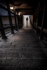 東大寺二月堂 石段