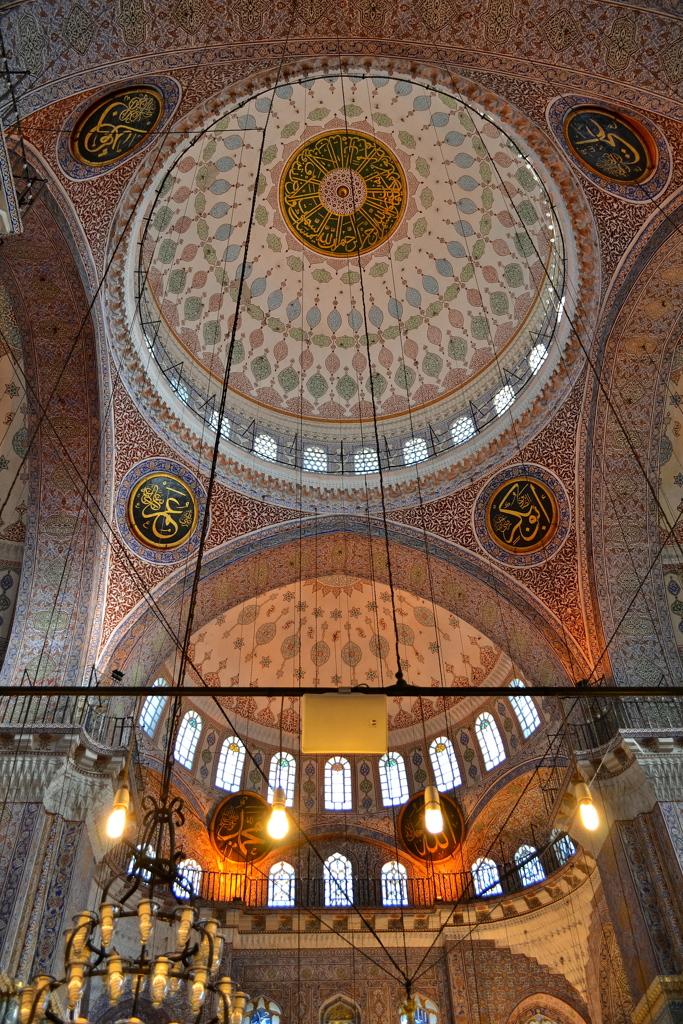 Yeni Cami 03 上昇する天蓋
