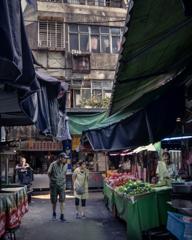 台湾 朝の路地裏散歩