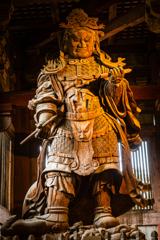 東大寺 広目天立像