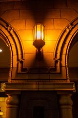 レトロモダン 街灯り