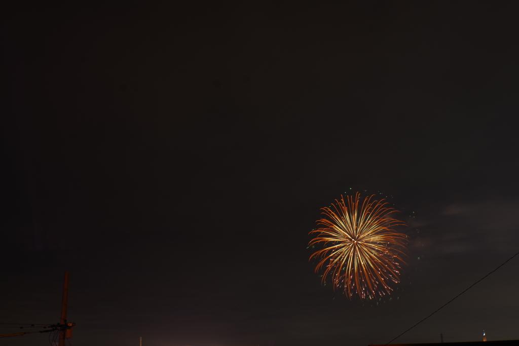 9月の花火 2