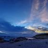 城ヶ島の夕刻を撮る人1