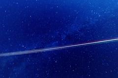 星と飛行機と