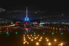 JAL787成田便