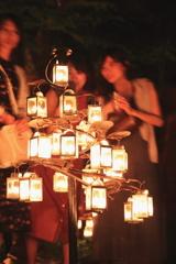 軽井沢高原教会のキャンドルナイト