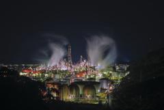 和歌山工場夜景01