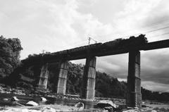 長瀞の架橋
