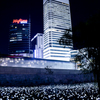 DDP(東大門 トンデムン 동대문)の夜景