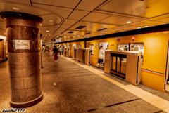 銀座線上野駅ホーム