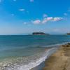 七里ヶ浜から見た江ノ島