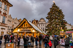 プラハのクリスマスマーケット