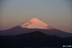 朝の富士山3