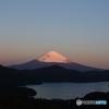 朝の富士山2