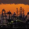 釧路港の黄昏