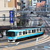 びわ湖浜大津駅にて