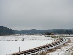 雪が降ろうが小湊鐵道は走るのです