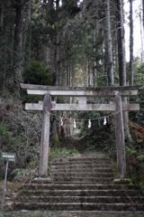 真弓神社参道