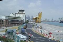 シンガポール 港