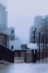 船橋。雨☔