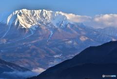 朝日の大山